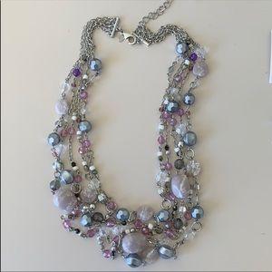 Lia Sophia sugar plum necklace